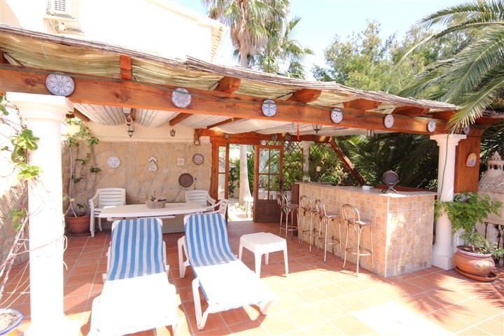 Terrace & Bar Area
