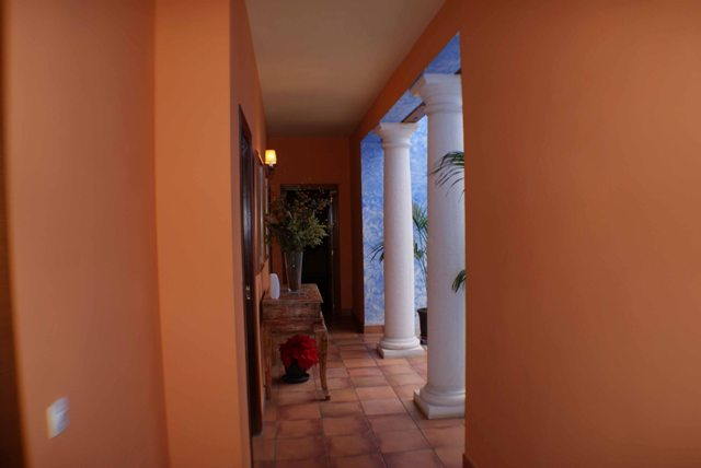Hallway to the Terrace