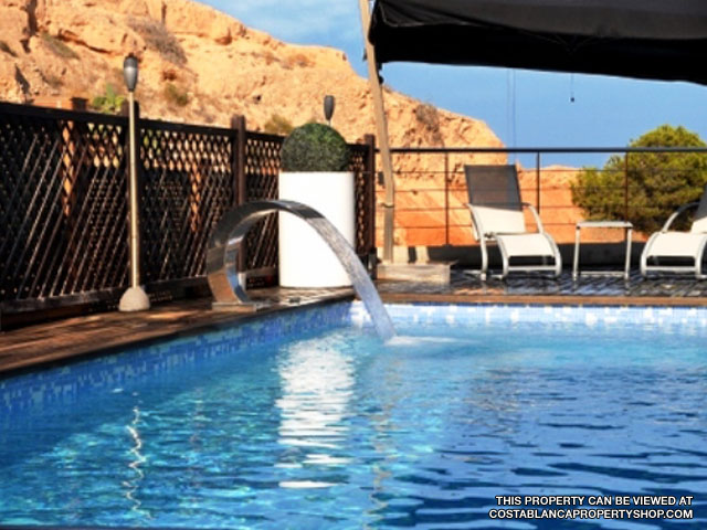 Private and Elegant Swimming Pool - Townhouse for Sale, Campoamor, Costa Blanca.